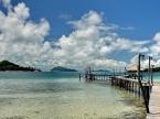 Il piccolo molo di Koh Mak - Thailandia