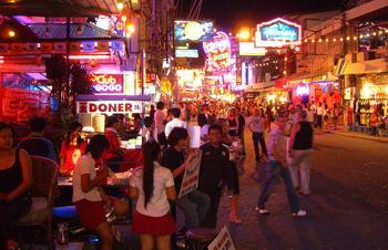 Vita notturna a Pattaya