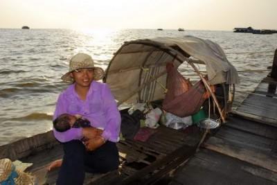 Pescatori Nomadi della Cambogia