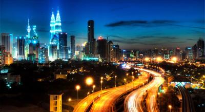 La capitale Kuala Lumpur - Malesia