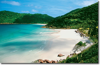 Spiagge ed acqua cristallina dell' Isola di Redang - Malesia
