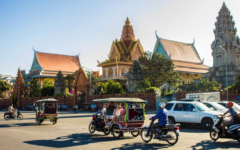 Visita Phnom Penh, la capitale della Cambogia