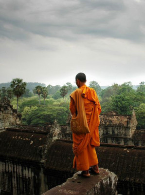 Angkor Wat era il centro religioso dell'impero Khmer.