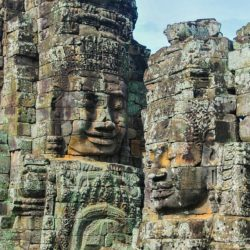 Bayon, l'ideale per una vacanza culturale in Cambogia.