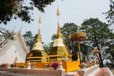 Wat Phra That Doi Tong a chiang rai in thailandia