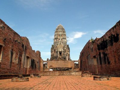 Ayutthaya e il tempio del Wat Ratburana