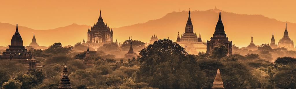 templi di bagan in myanmar