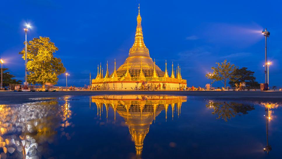 shwedagon paya yangon myanmar