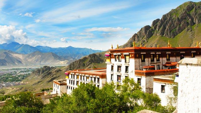 monasteri del tibet