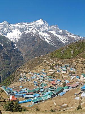 Namche Baazar nepal