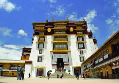 palazzo bianco potala tibet