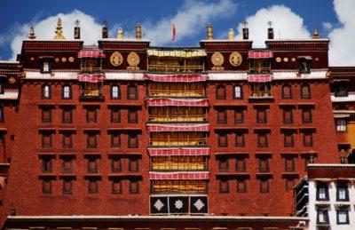 palazzo rosso potala tibet